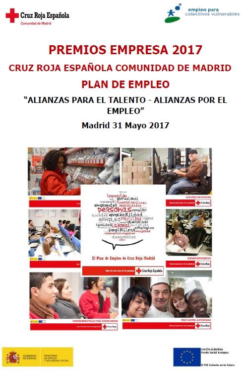 Pr ximos eventos premios empresa 2017 plan de empleo for Eventos madrid mayo 2017