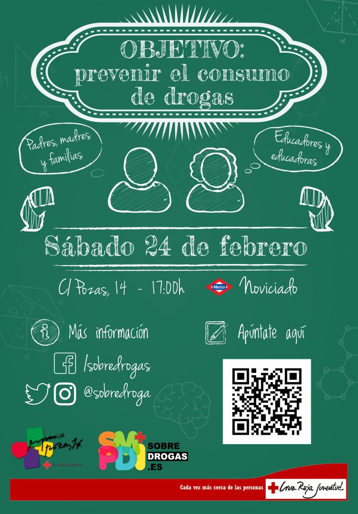 Objetivo - Prevenir el consumo de drogas